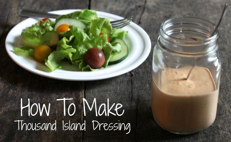 Easy Homemade Thousand Island Dressing