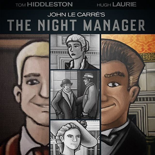 In the first of our TV boardgame mashups #TVbgmashup posts we bring you the BBC's brilliant mini series #TheNightManager with #GrandAustriaHotel we love boardgaming, but we're not adverse to some good Tele.  What TV do you love? #TV #BBC #TVshows #bgg #Boardgame #boardgamer #boardgames #BoardGamers #boardgamegeek #tabletop #tabletopgame #tabletopgamer #tabletopgames #juegodemesa #gamenight #hughlaurie #tomhiddleston