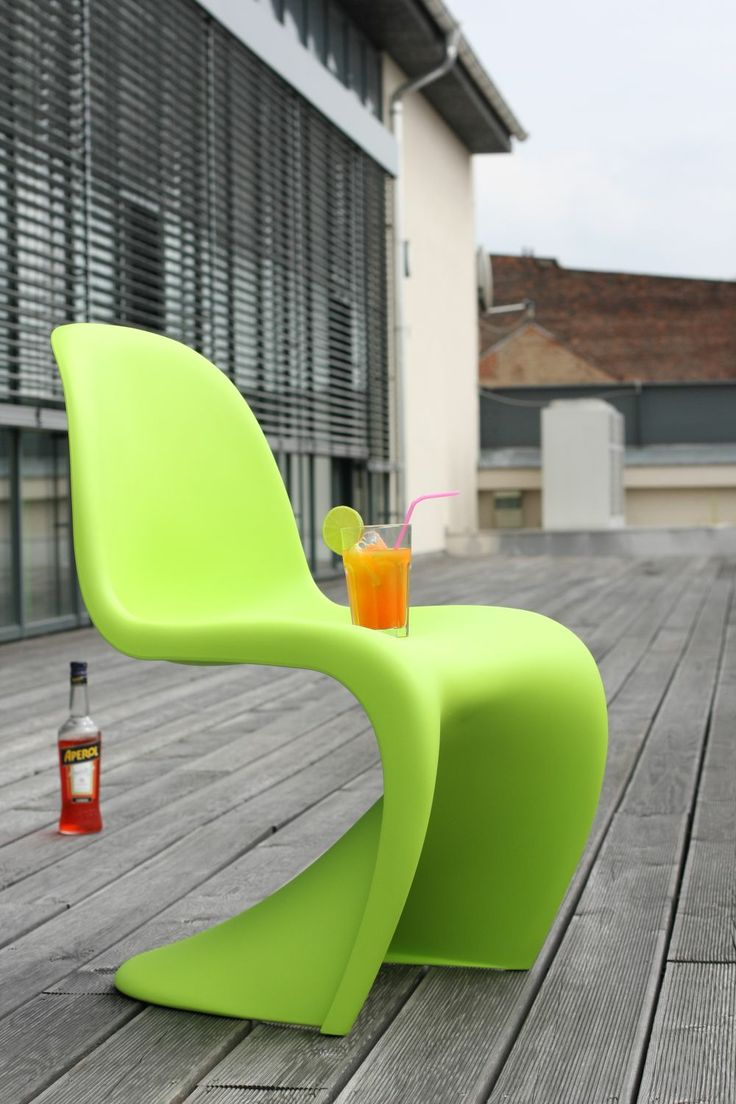 best verner panton  the side chair images on pinterest  - time to relax