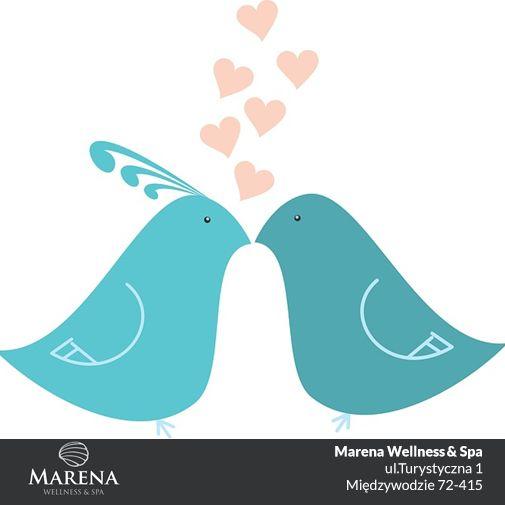 Pozdrawiamy Walentynkowo i życzymy Wam mnóstwa miłości każdego dnia! #Marena #Walentynki #nadmorzem
