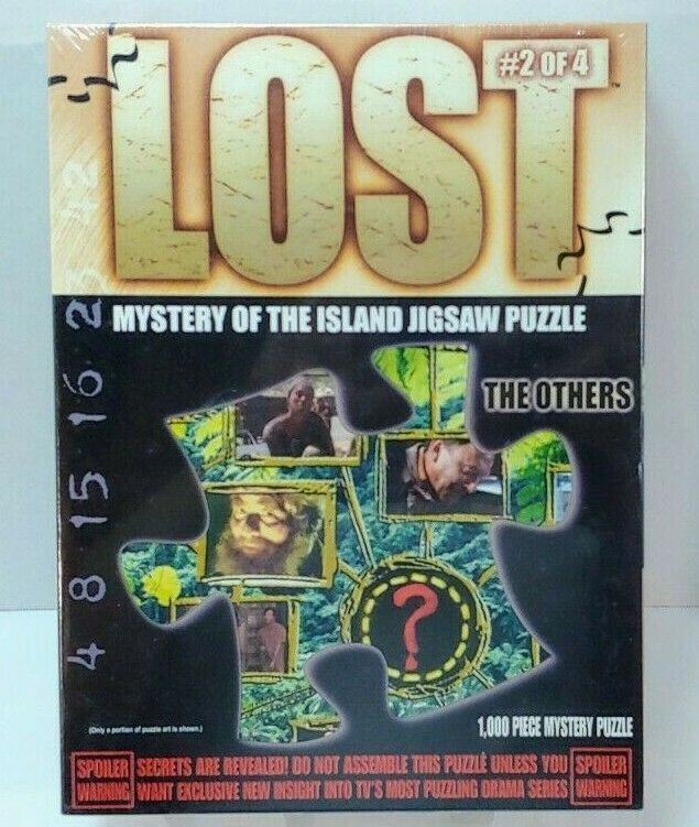 Lost© 2 Of 4 Mystery Of The Island Jigsaw Puzzle