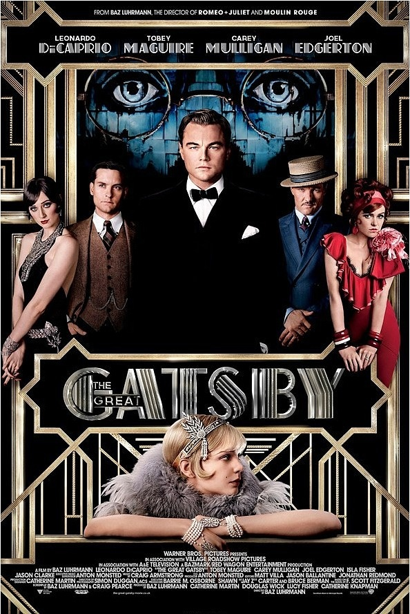 Senior students...check out the latest version of The Great Gatsby in cinemas now.