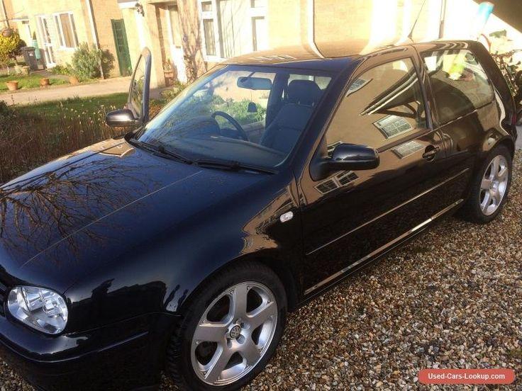 2003 VOLKSWAGEN GOLF V6 4MOTION BLACK #vwvolkswagen #golfv64motion #forsale #unitedkingdom