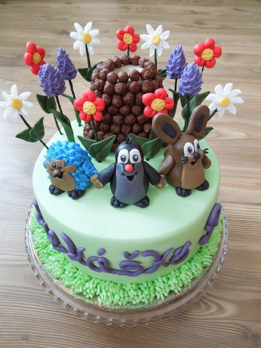 The Mole and his friends - Cake by Happy Caking by Domik