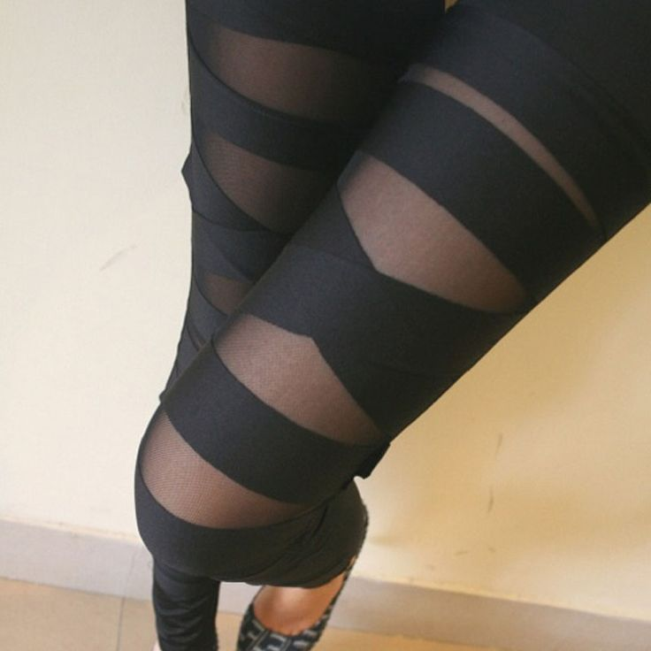 Striped Mesh Rock Leggings //Price: $15.55 & Safe Secure Payment//     Look at this now ---> https://topglamlady.com/striped-mesh-rock-leggings/    #chokers