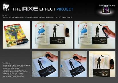 Axe: Effect Project. That's an Ad!