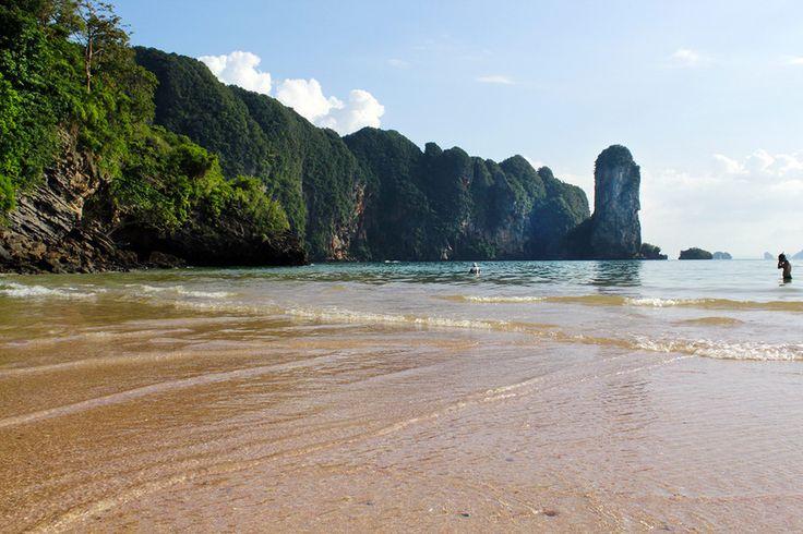 Ao Nang, Beach, Krabi, Thailand,sand, sea, clouds,