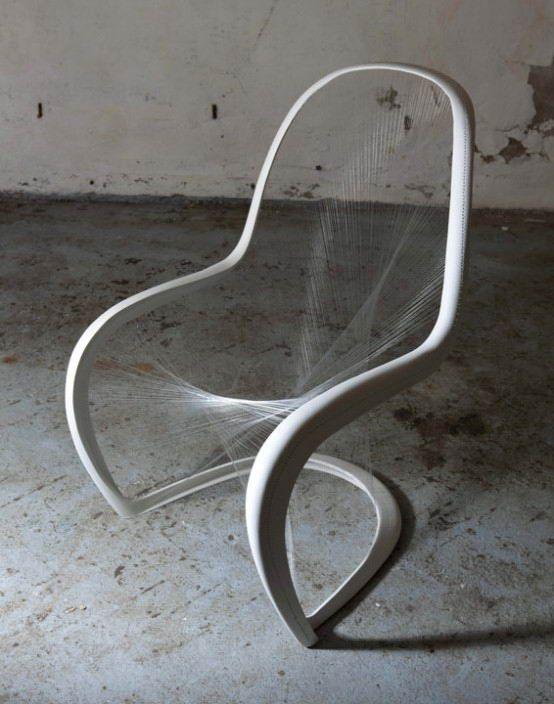 transperent designer chair