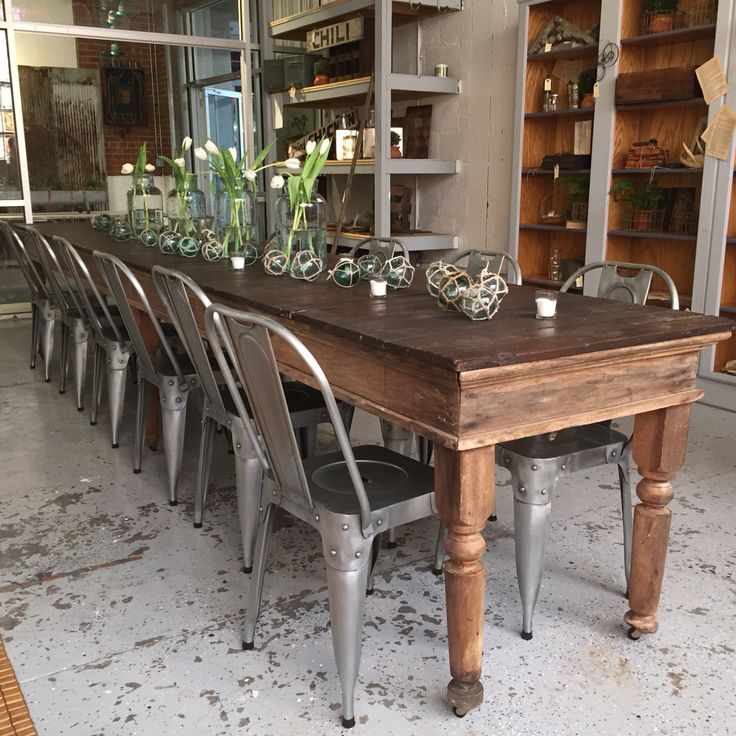 Long Dining Room Table: Best Table Ever!! In 2019