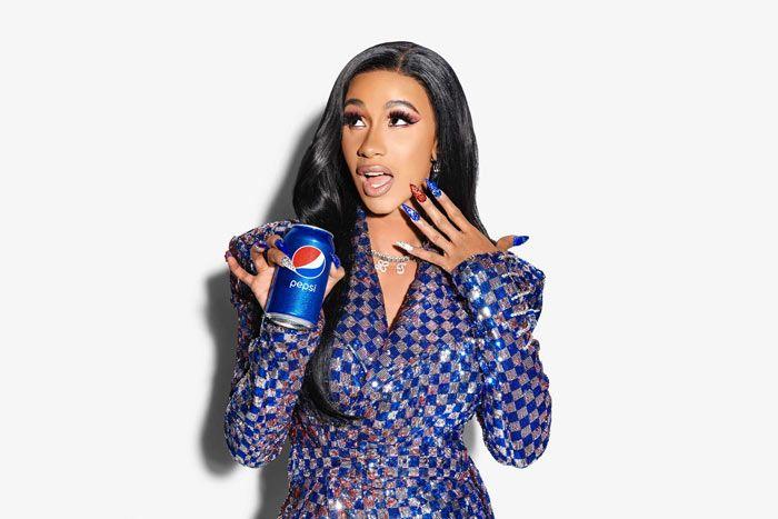 Watch Cardi B Star In Pepsi S Super Bowl Commercial Cardi B Cardi Fashion