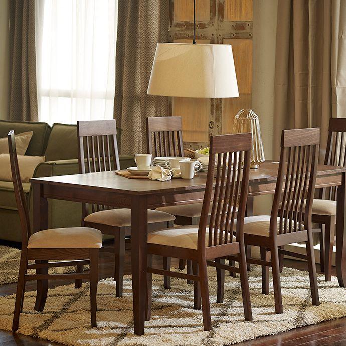 Si lo tuyo son los #muebles de corte #clásico, este #comedor te va a encantar :) #Comedores #Mesa #Sillas #Madera #Homy