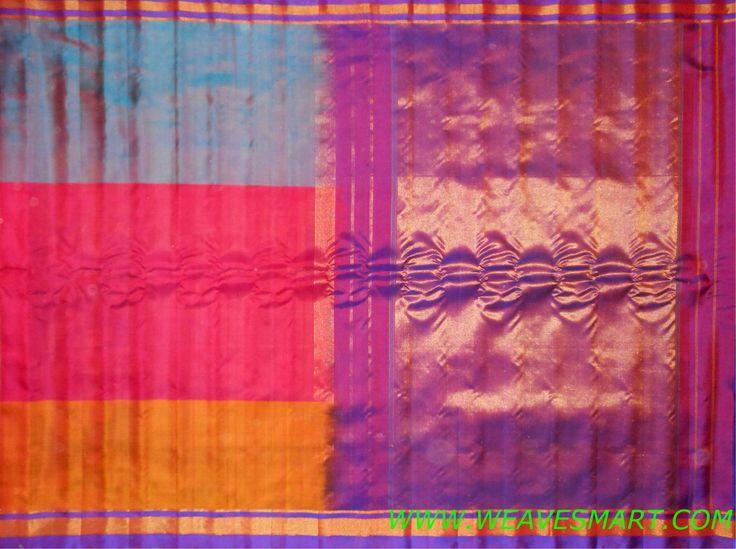 Gadwal Silk Saree - GDW00230