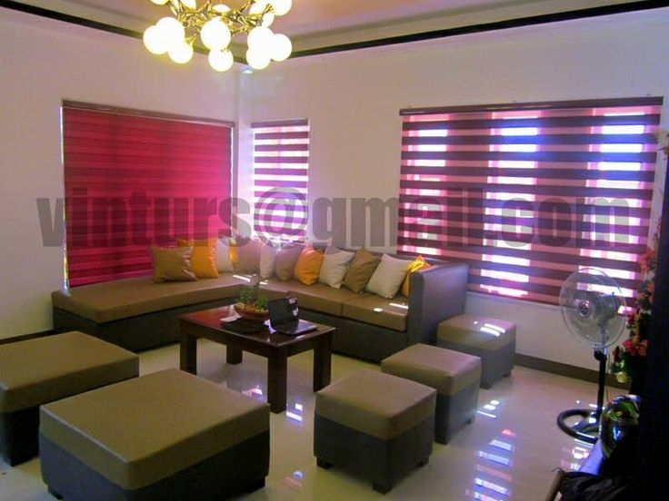 Good DUO ROLLER BLINDS CODE Basic Maroon Find me in Sulit http