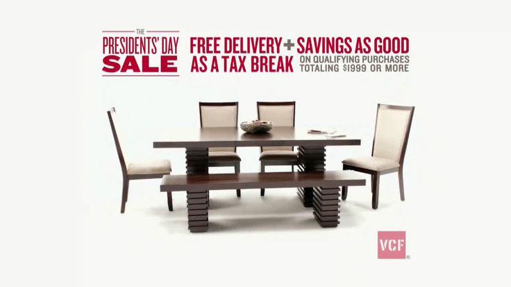 AbanCommercials: Value City Furniture TV Commercial  • Value City Furniture advertsiment  • Shop VCF Presidents' Day Sale! • Value City Furniture Shop VCF Presidents' Day Sale! TV commercial •