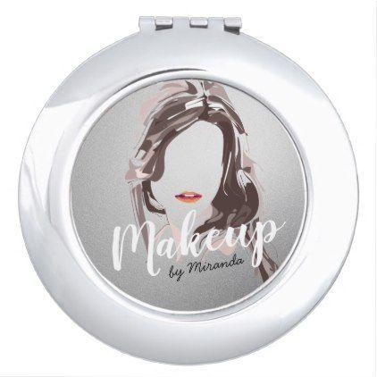 Modern Makeup Artist and Hair Stylist Beauty Salon Makeup Mirror - artists unique special customize presents