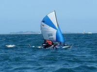 Barracuda Kayak with Kayaksailor New Zealand