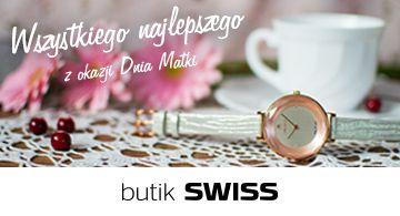 Z okazji dnia Matki w dniach 20-26 maja przy zakupie zegarka otrzymasz wyjątkową biżuterię Dyrberg/Kern w PREZENCIE. Spotkajmy się w butiku SWISS.