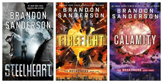 The Reckoners Series. Good series for boys