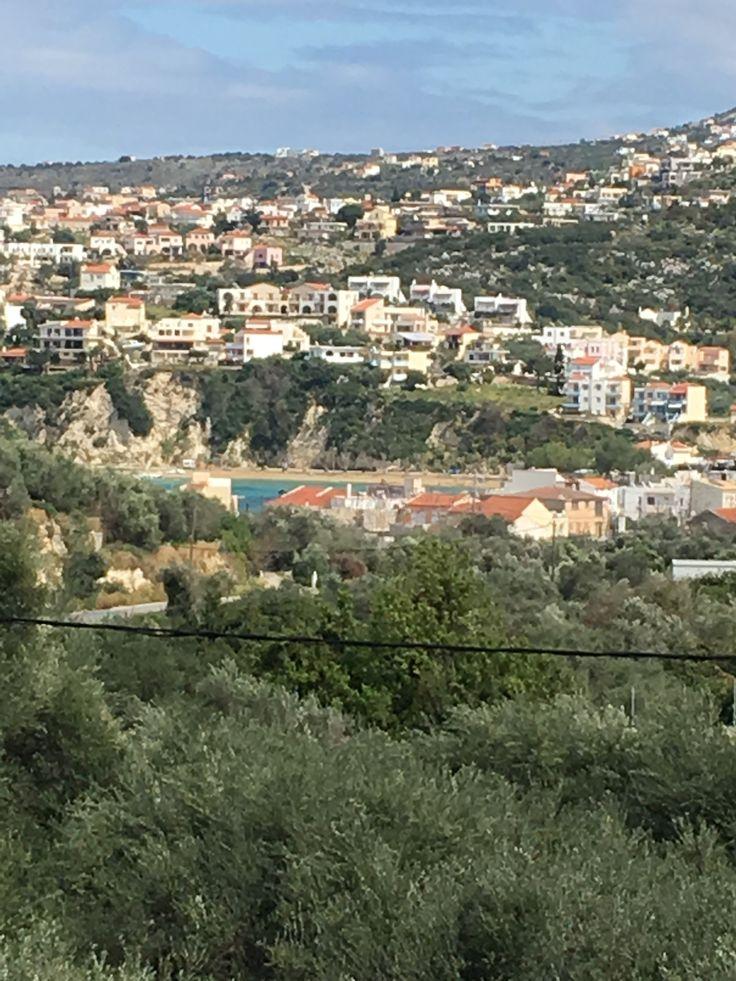 Village d'Almyrida, où se trouvent les appartements ALMYRIDA SANDS.