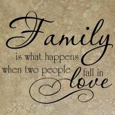 Love is the first clue for a family