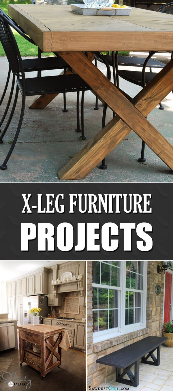 10 Awesome DIY X-Leg Furniture Projects →