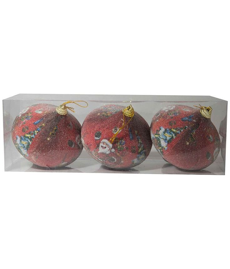 Shop SGS Christmas Tree Hanging Balls - Ornament Balls Best Template Colours (Set Of 6) online at lowest price in india and purchase various collections of Christmas Tree & Decoration in SGS brand at grabmore.in the best online shopping store in india