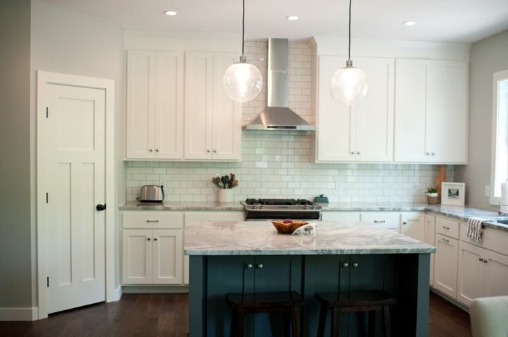 Kendall Charcoal, Dreamy Kitchens, White Subway Tile, Kitchens Dinning