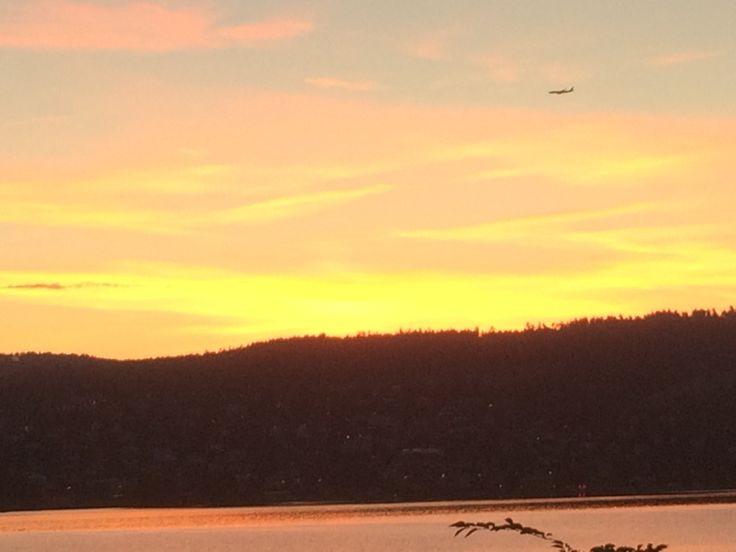 Dawn on Lake Zurich