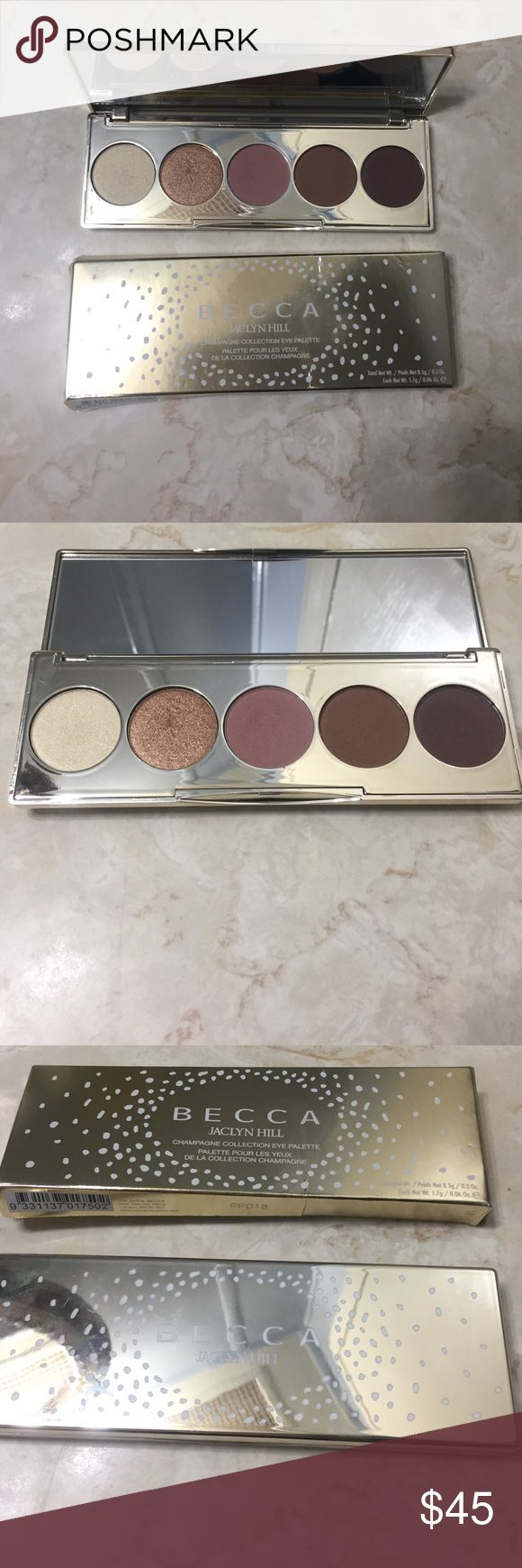 BECCA Champagne Pop Collection Eyeshadow Palette BECCA, Champagne Pop Collection Eyeshadow Palette, This is a Limited Edition Palette in my opinion it's a good Palette, I just don't reach for it as much, as other Palettes, NO TRADES, PRICE IS FIRM BECCA Makeup Eyeshadow