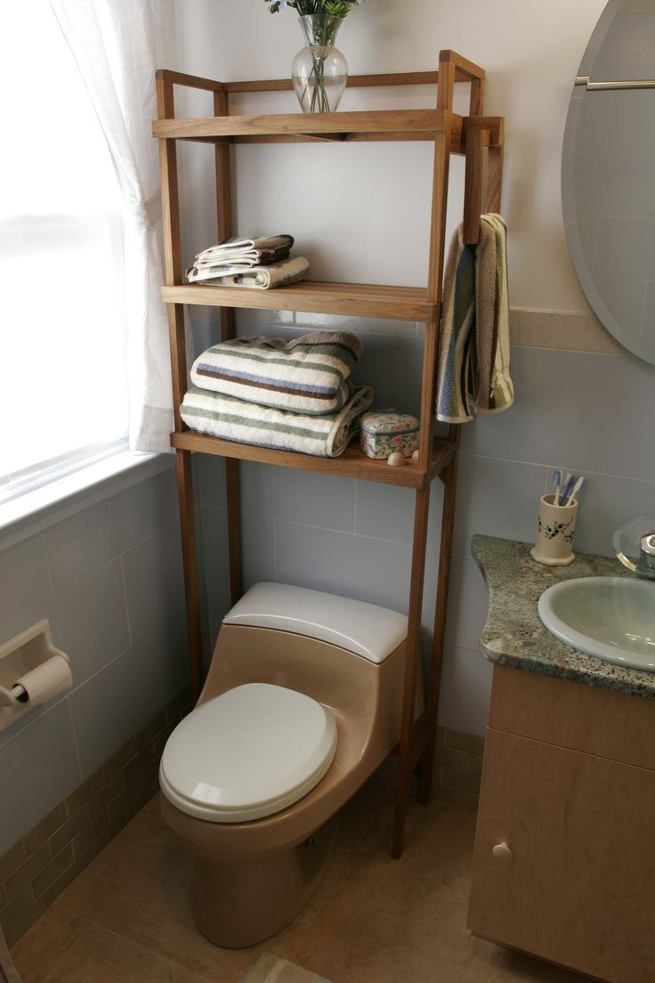 Teak bathroom space saver - Teak Space Saver Shelf Bathroom