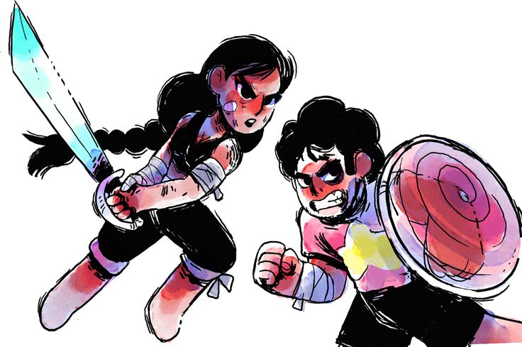 TOONIMATED   Steven Universe fanart gif! More of my wobbly...