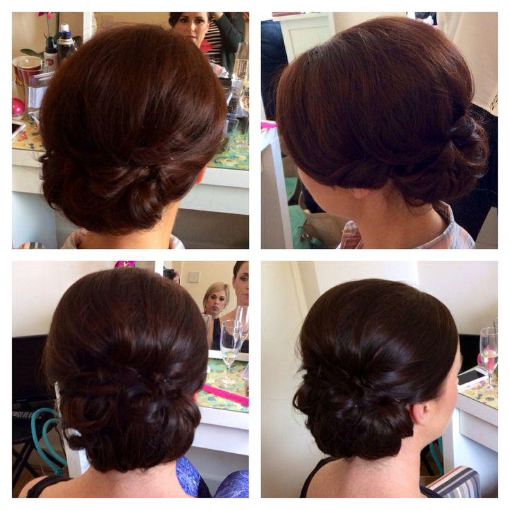 Bride bridesmaid hair www.facebook.com/alideebridalhair