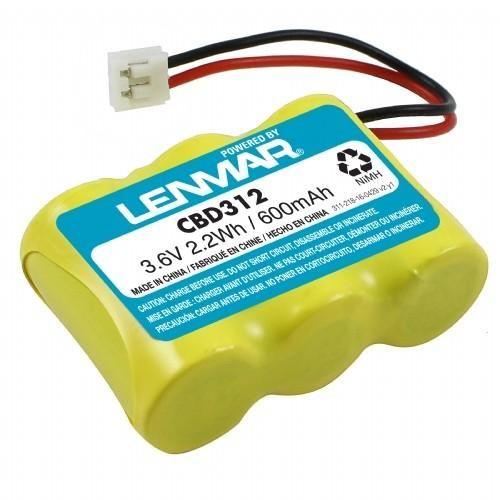 Lenmar CBD312 Cordless Telephone Battery, 3.6V / 600mAh