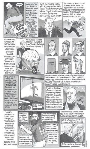 David Squires on  the last round of Euro 2016 group games