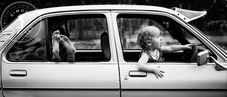 This was taken at a friend's house with umpteen kids climbing in and around an old Holden Gemini. We created a fantastic series of photos that day, but this one takes the cake and earned a silver award at the 2013 state awards :) © Simone Hanckel Photography