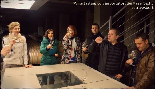Wine tasting in Italy!