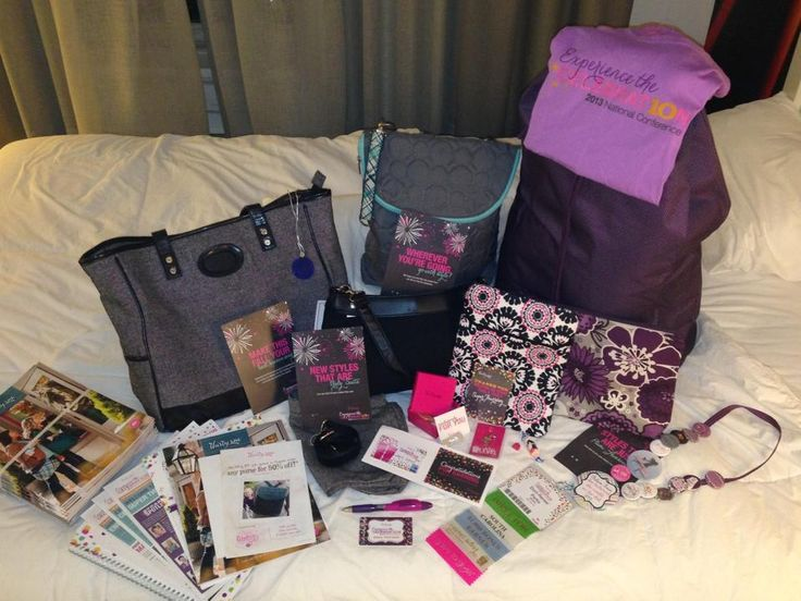 Spoiled completely by thirty one!!! Plus I have a national conference kit coming too!!!
