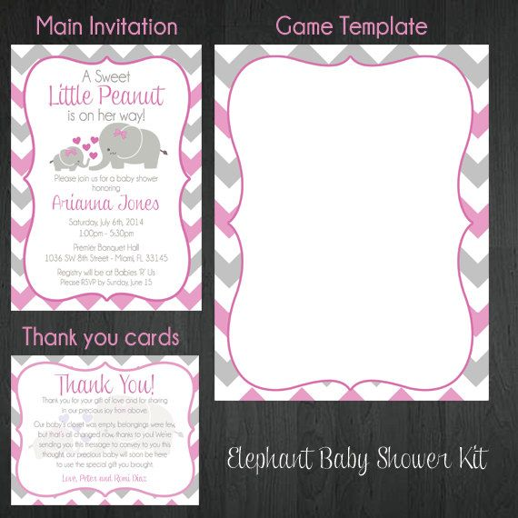 best baby shower invitations images on   resolutions, Baby shower