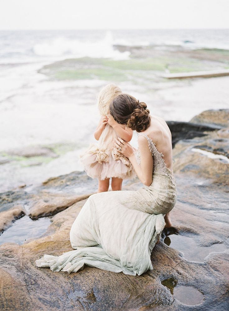 """""""A MOTHER'S LOVE"""" for @oncewed Hair & Makeup @soniaallenmua // Photographer @lillikad //  Floristry @kindredfloral // Gowns @vivianluk // Calligraphy- Poesie der Feder // Silk Ribbons- Songbird Silk // Jewellery @fairfaxroberts // Model- Catherine Grant at Chadwick Models"""