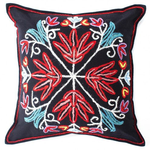 Tree Of Life Applique Pillow Cover | VivaTerra