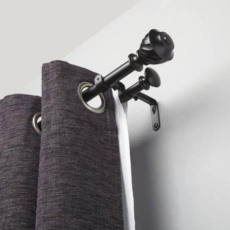 1000+ ideas about Double Curtain Rod Set on Pinterest   Double ...