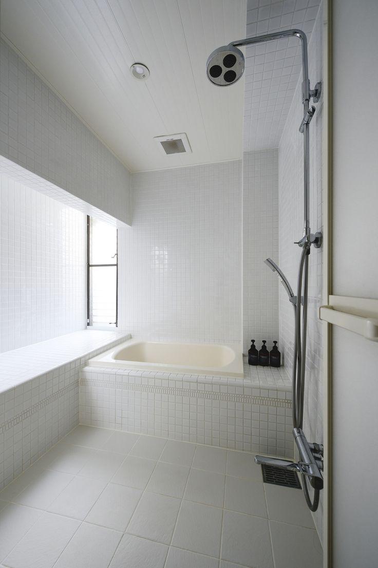 リフォーム・リノベーションの事例 浴室 施工事例No.470住うと仕事を楽しむ、レトロな雰囲気。 スタイル工房