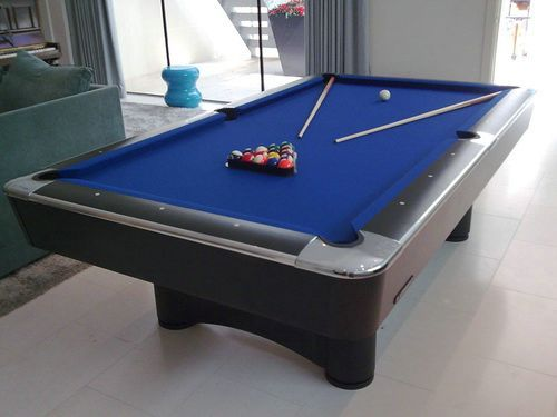 Standard Size Pool Tables Black