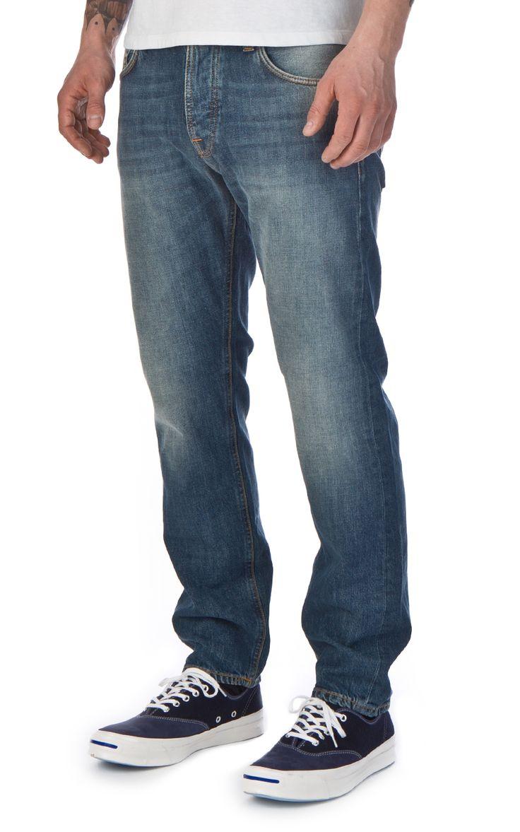 Nudie Jeans Steady Eddie Indigo Larch