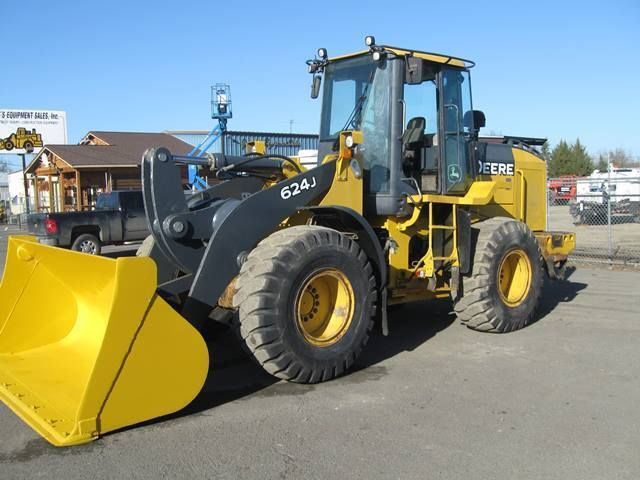 John Deere Heavy Equipment | 2008 john deere 624j for sale 0 2008 JOHN DEERE 624J For Sale