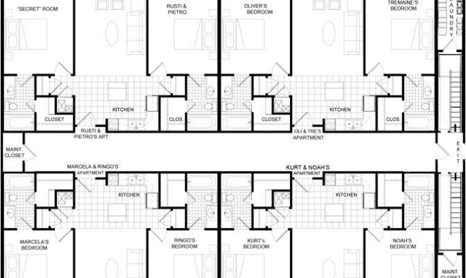 Apartment Floor Plan Floor Plans Small Apartment Complex Plans House Plans With Photos