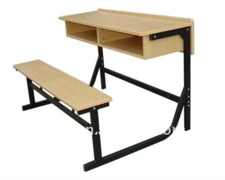 Economical school furniture desk and chair/school desk and bench for sale