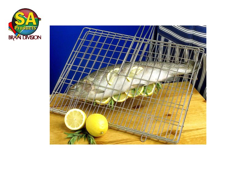 SA Products stainless steel braai grids is perfect for braaing fish.
