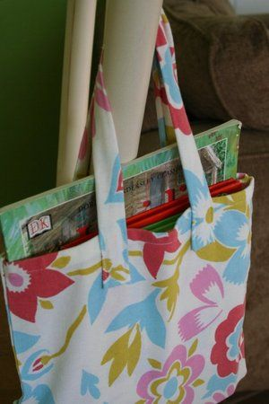 Dishtowel Tote Tutorial.  Takes a single dishtowel and less than an hour to make according to these instructions.
