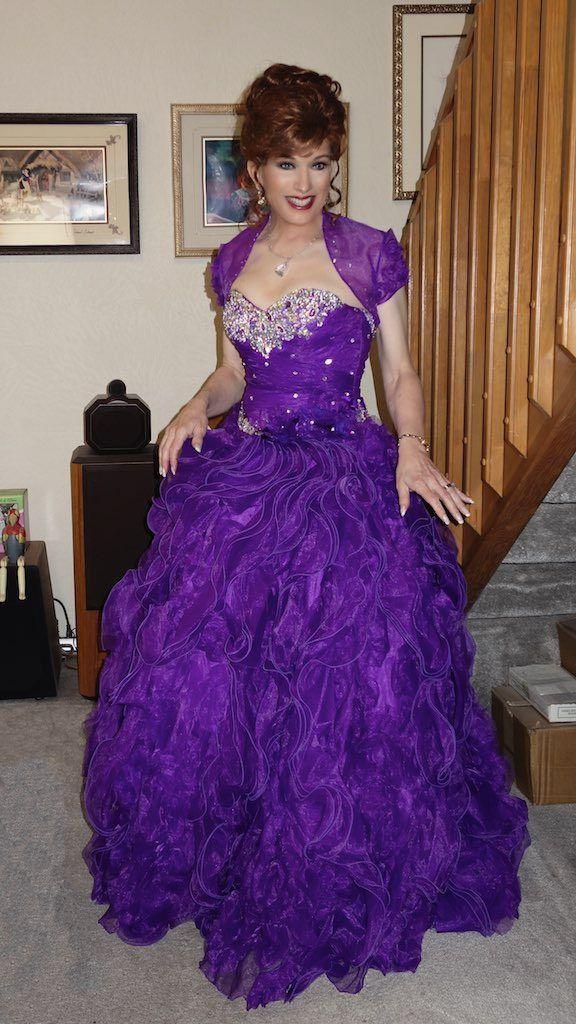 Transvestite formal wear pic 384